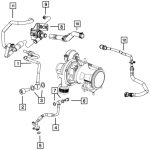 Turbo Pipe Washer (Fiat/Abarth 500)
