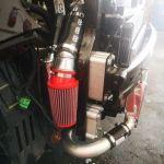 ORRA Racing Fenderwell Cold Air Intake (Fiat/Abarth 500)