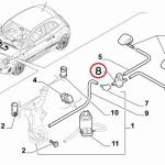 Front Windscreen Washer Valve (Fiat/Abarth 500)