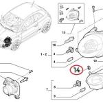 Speed Clip for Front Lights & Rear Bumper (Fiat/Abarth 500)