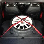 RacerFlash Removable Cargo Straps | FIAT 500 Abarth