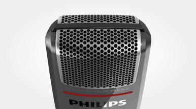 Grille de microphone avec structure optimisée pour un son limpide