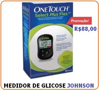 aparelho de glicose one touch select plus flex