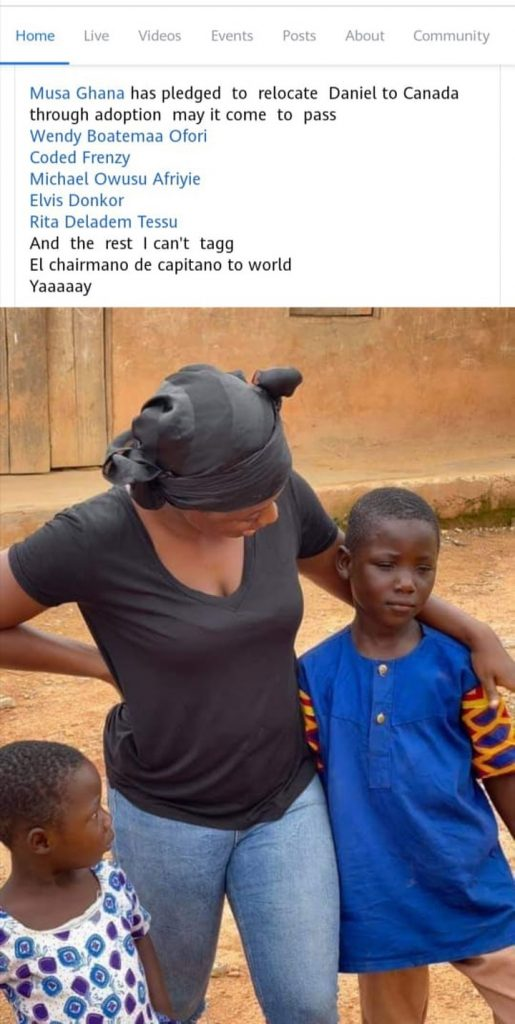 Viral 'Fufu king' 'Daniel' Our day Boy Receives Massive Favor To Canada By Adoption