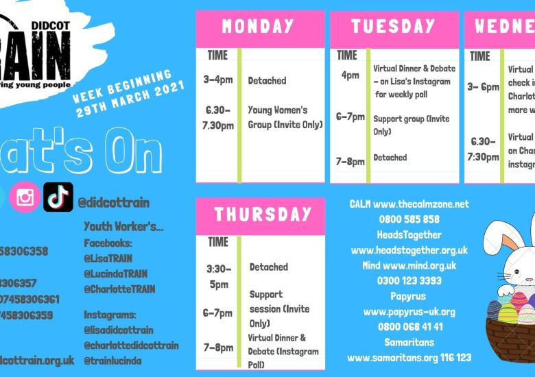 What's going on this week?