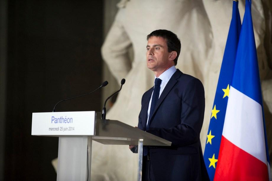 Manuel Valls, conférence de presse