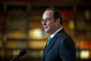 François Hollande à la BNF Richelieu, 11 janvier 2017
