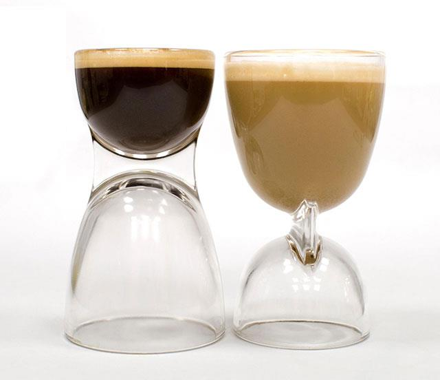Large or small cup? - coffee