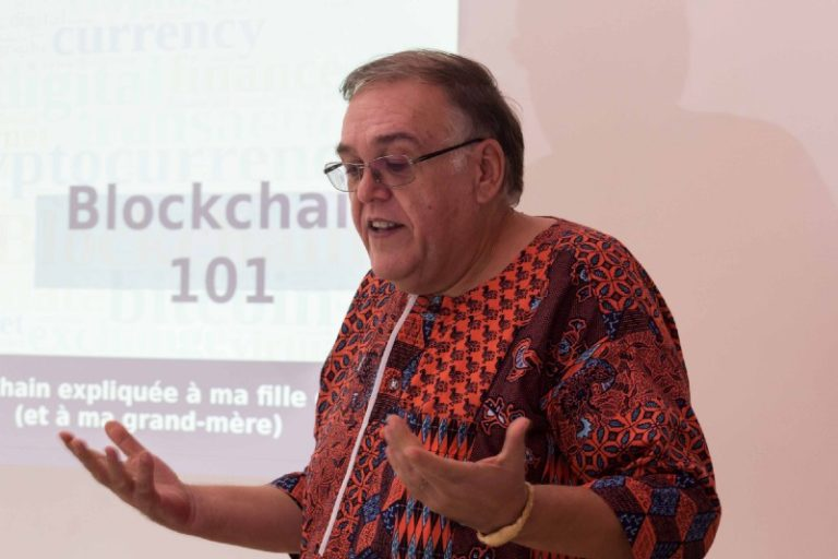 Didier J. MARY @ Cotonou Blockchain Meetup