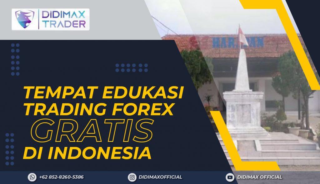 TEMPAT EDUKASI FOREX TRADING GRATIS DI KOTA DEPOK INDONESIA