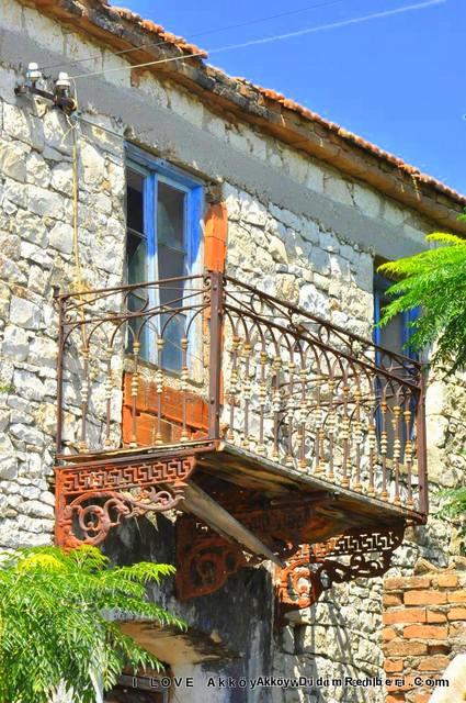 Akköyün evleri