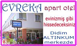 Evreka apart Otel Evinizdeymiş gibi tatil