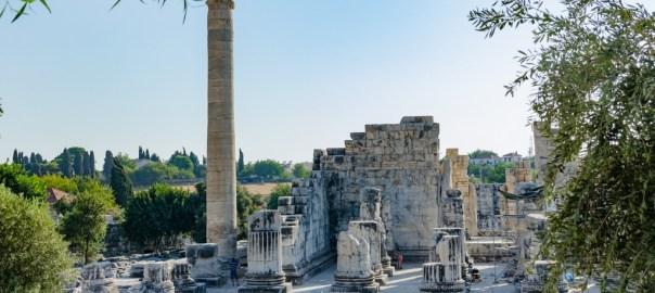 Didimde Didyma antik kenti