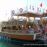 tekne turu günübirlik Didim Altınkum Limanından