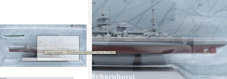 """Beispiel ebay Schlachtschiff quot; Scharnhorst"""""""