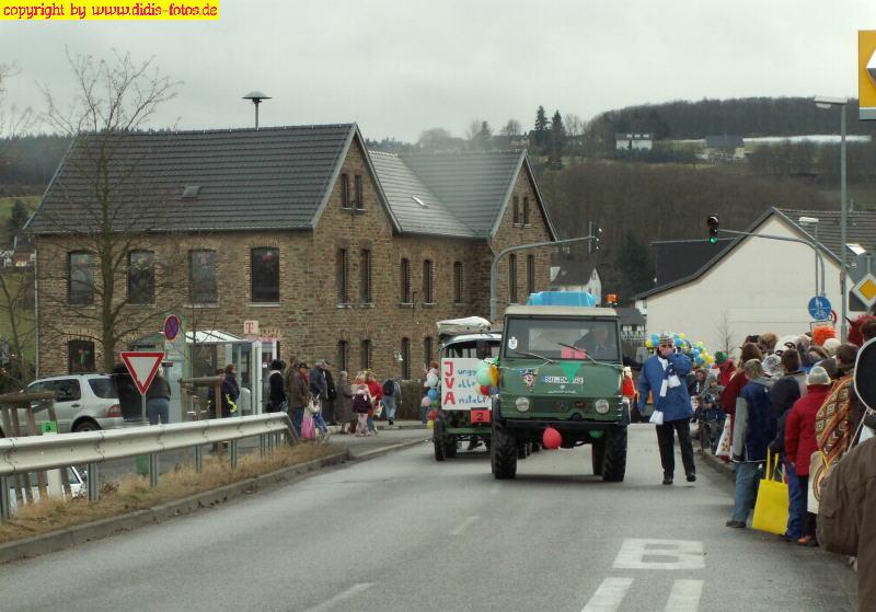 Karnevalszug 2008 Neukirchen/Merzbach