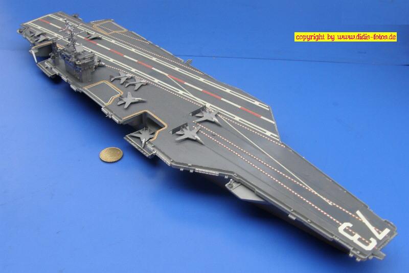 "CVN-73 USS ""George Washington"" der Nimitz-Klasse (Revell 7068)"