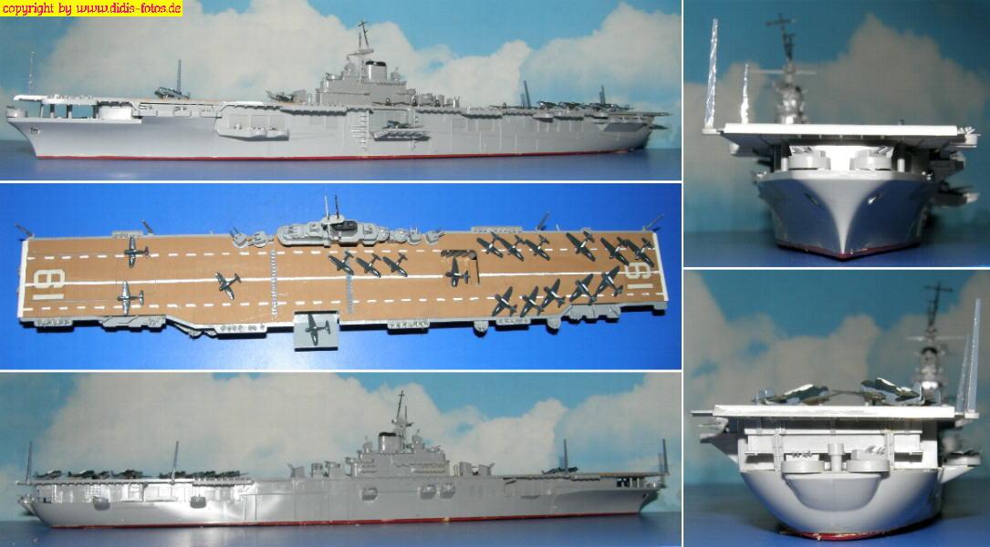 "CV-19 USS ""Hancock"" der Essex-Klasse (Hasegawa 46113)"