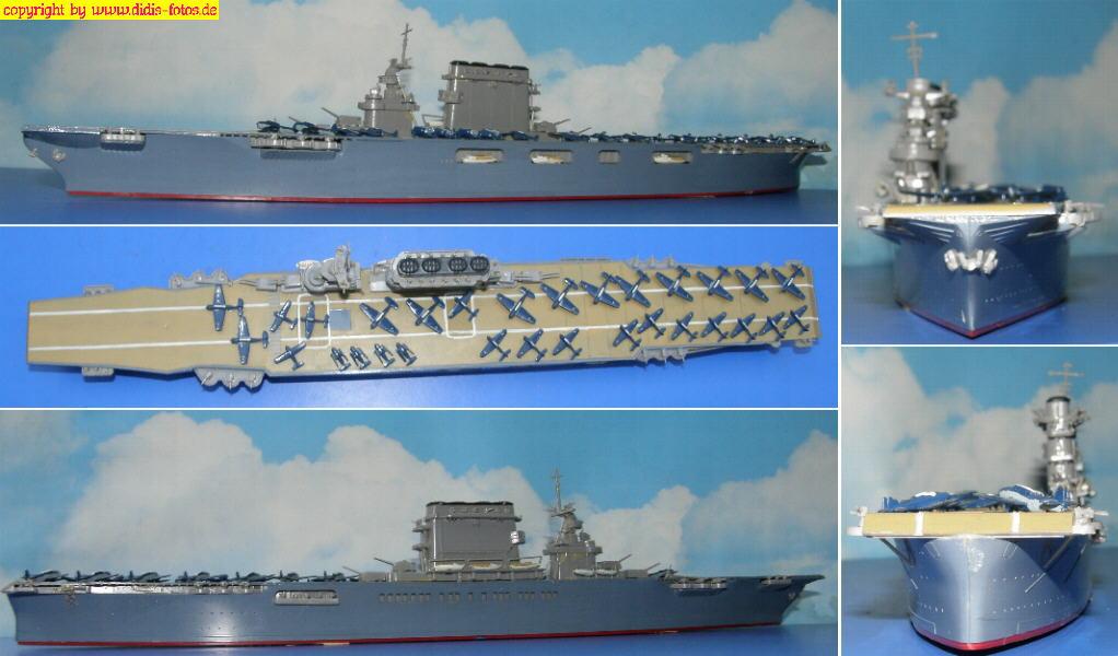 "CVB-3 USS ""Saratoga"" der Lexington-Klasse (Fujimi 44117)"