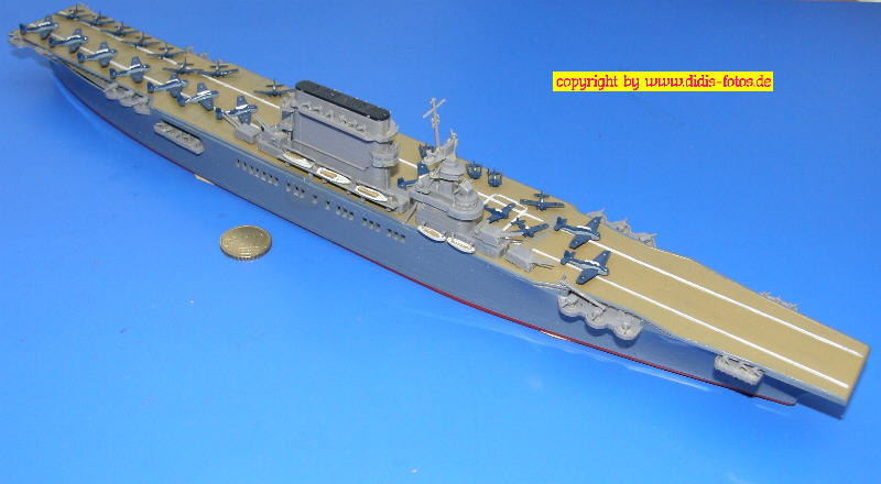 "CVB-2 USS ""Lexington"" der Lexington-Klasse (Fujimi 44116)"