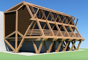 Пасивна сграда, архитект