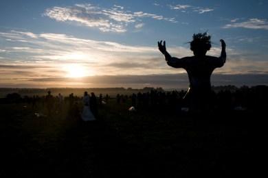 Summer Solstice Stonehenge by vintagedept