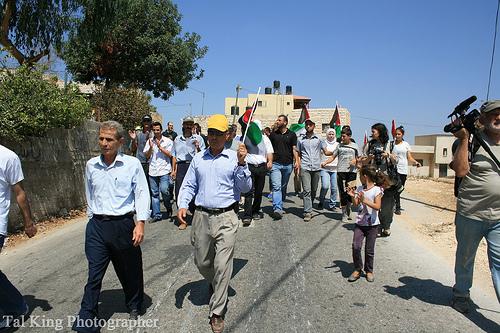 Fear and tear gas in Nabi Saleh