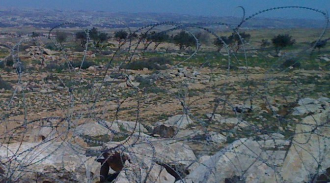The occupation defiles the Holy Land