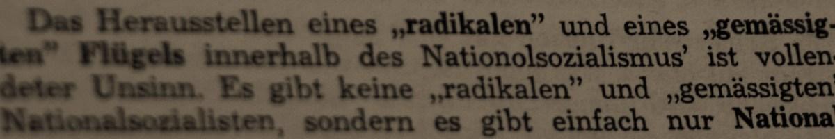 #42 – Kein Wort über die Lage der Juden