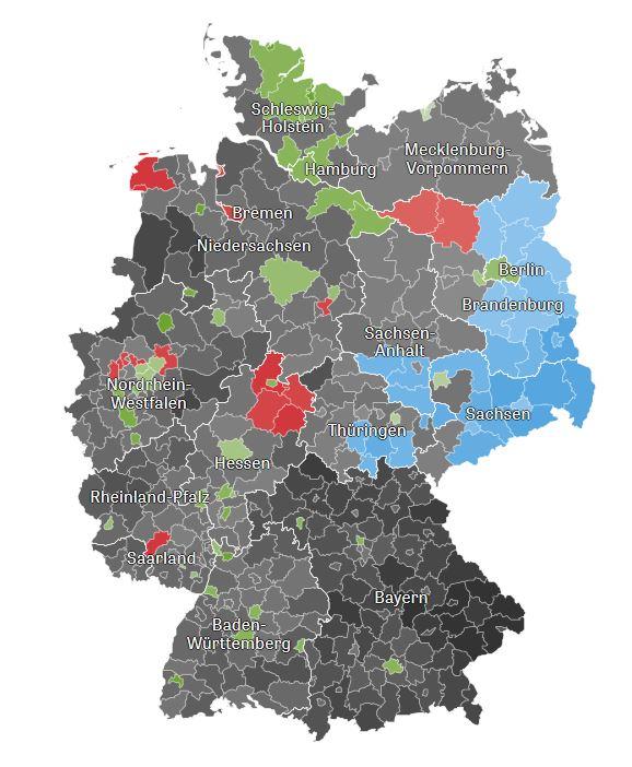 Quelle: Bundeswahlleiter, vorläufiges Ergebnis, Stand: 27.05.2019