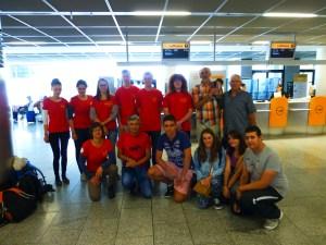 Frankfurt mit Team Spain