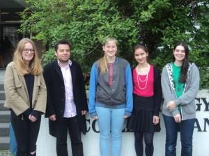 Deutsches IESO-Team 2014