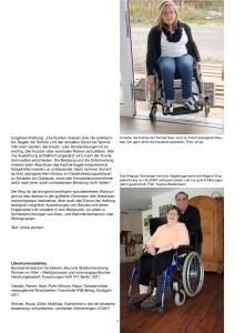 Bilder von 2 Menschen mit Behinderung, die Nullschwellen wollten und diese nicht erhalten haben oder darum kämpfen mussten, aus einem Artikel von Ulrike Jocham, der Frau Nullschwelle aus dem Jahr 2012