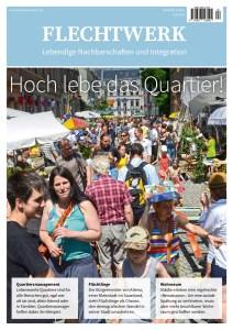 Cover von der Fachzeitschrift Flechtwerk mit einem Artikel von Ulrike Jocham, der Frau Nullschwelle: Ein Quartier für alle