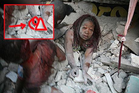 Haiti Erdbeben Illuminati Pyramide Symbol 6
