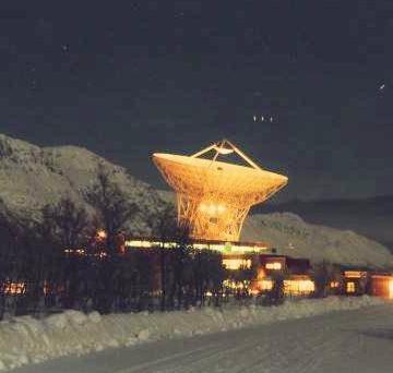 EISCAT Anlage Spitsbergen