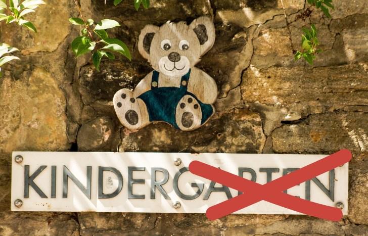 Der Kindergarten ohne Garten