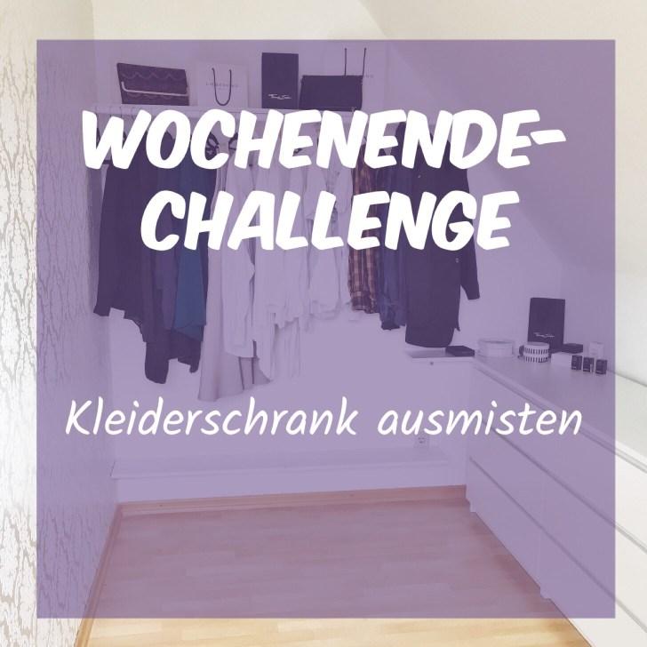 Wochenend-Challenge: Kleiderschrank