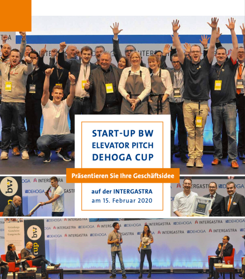 Start-up BW Elevator Pitch – DEHOGA Cup 2020