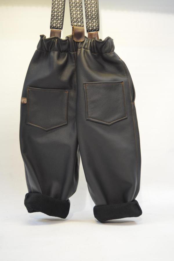 Lederhose schwarz Gr 86-92-98