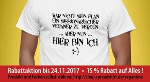Veganima - Hier bin ich - Rabattaktion