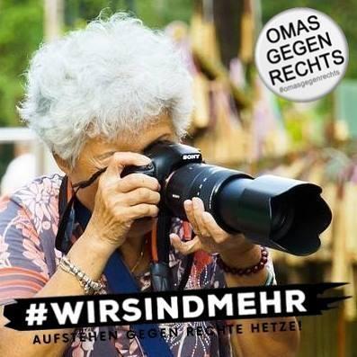 #wirsindmehr - #omasgegenrechts