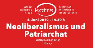 Neoliberalismus und Patrirachat - Vortrag von Inge Kleine im Kofra
