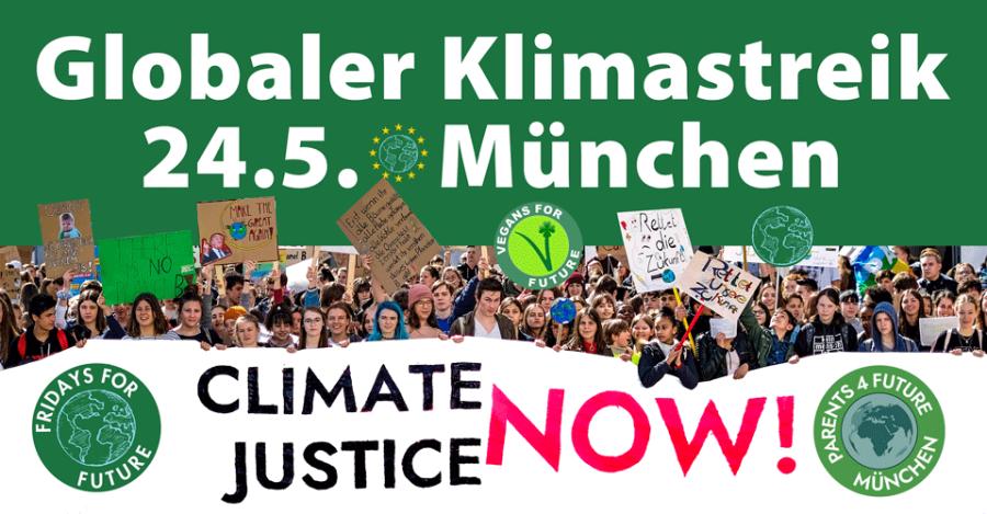 24.5.2019 - Globaler Klimastreik München - Global Strike for Climate - Munich