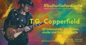 Kulturlieferdienst - 3.7.2020 - 18-19 Uhr. TG Copperfield Espressobar Pavesi - Türkenstr. 67