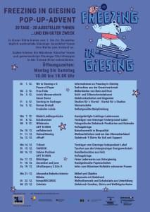 Freezing in Giesing - Adventshütte for der TelapoFreezing in Giesing - Adventshütte vor der Telapost 1.-24.12.2020st 1-24.12.2020