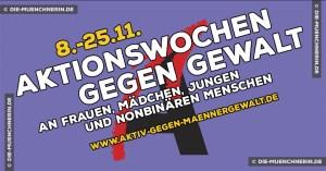 Münchner Aktionswochen gegen Gewalt 2020