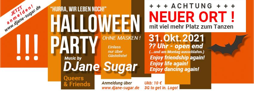 Update - Halloween Party mit Djane-Sugar.de