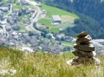 Steinturm, Serfaus, Österreich