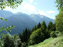 Ultental in Südtirol nähe Lana